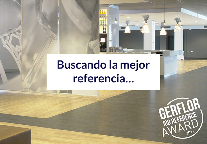 Gerflor Job Reference Award 2016 Es